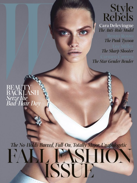 Cara Delevingne W Magazine September Issue Cover