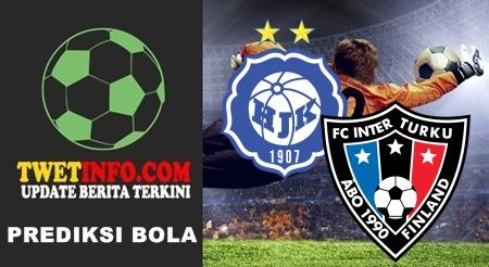 Prediksi HJK vs Inter Turku, Finland 10-09-2015