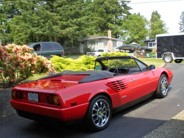 always garaged 1988 ferrari mondial convertible auto restorationice. Black Bedroom Furniture Sets. Home Design Ideas