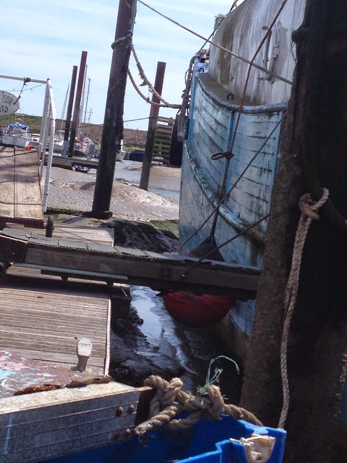 Renovating Tino a Wooden Danish fishing trawler houseboat Clear