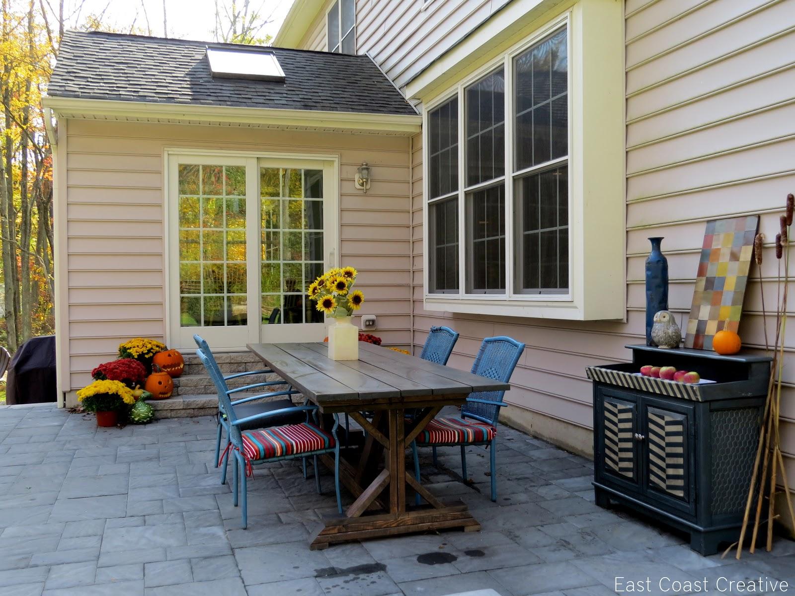 diy patio reveal it u0027s finally here east coast creative blog