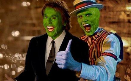 La máscara: Raphael y Jim Carrey