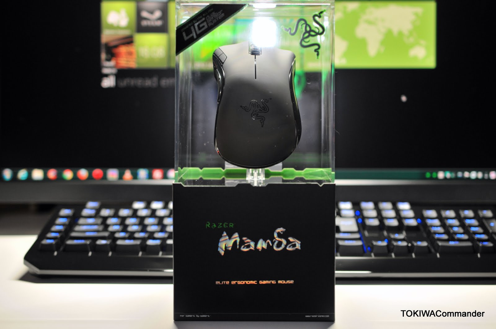 how to clean razer mamba