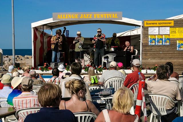 Festiwal jazzowy w Allinge