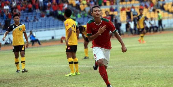 Berkat Hattrick Muchlis Hadi, Indonesia Bantai Kamboja 6-1