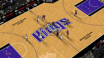 NBA 2K13 Sacramento Kings Court Patch