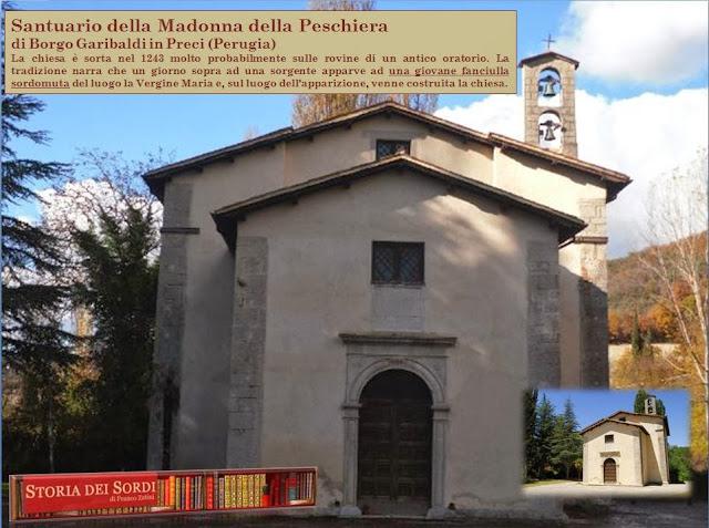 Chiesa della madonna della peschiera di preci perugia for Vasche per allevamento trote