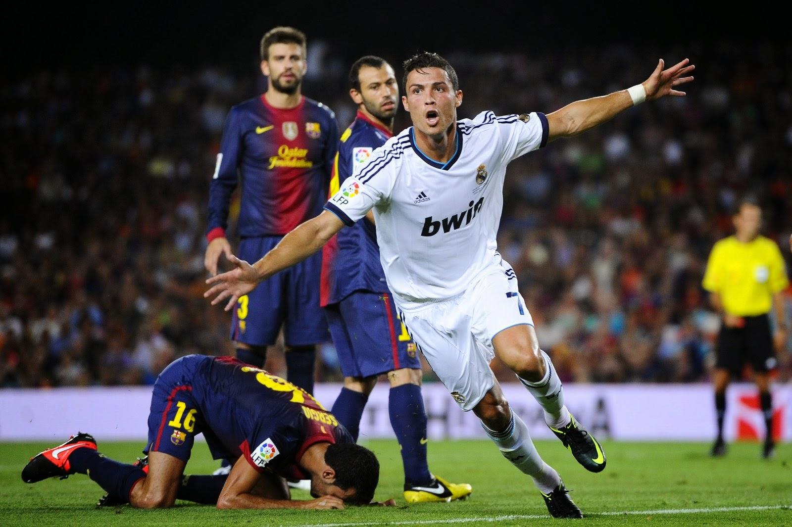 Cristiano Ronaldo (3-0) Champions League Jornada Cuartos de final (ida) - 02/04/2014