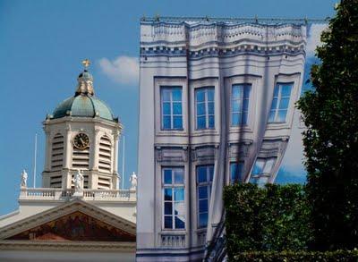 الرسم على المنازل-خدع بصرية-منتهى