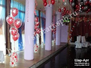ШАР АРТ оформление свадьбы воздушными шарами