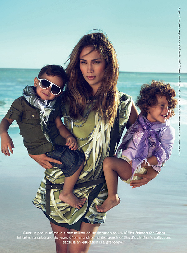 jennifer lopez kids gucci ad. jennifer lopez kids gucci ad