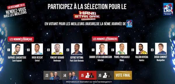 Jornada 5 en la #LNH: Los elegidos para el juego de las estrellas | Mundo Handball