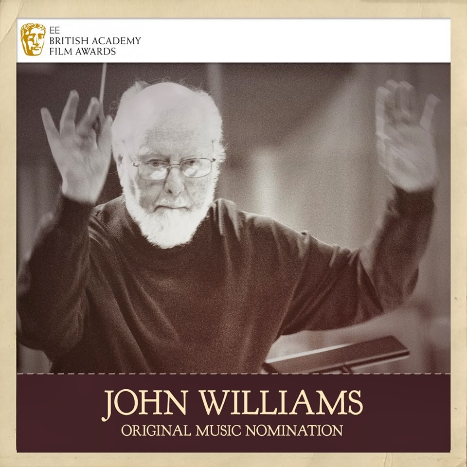 67th bafta awards john williams original music nomination