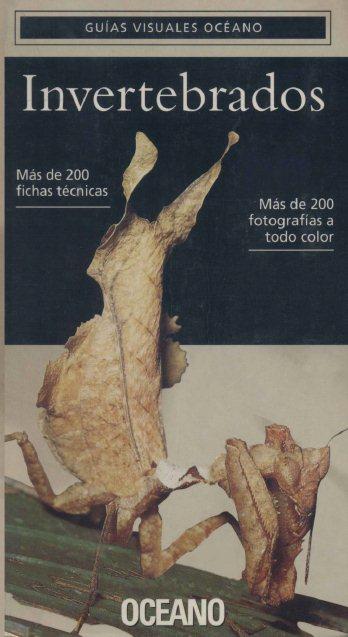 Guías Visuales de Océano: Invertebrados FreeLibros
