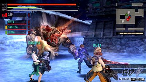 Download Gods Eater Burst PSP ISO High Compressed