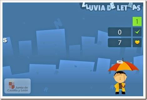 http://www.educa.jcyl.es/educacyl/cm/gallery/Recursos%20Infinity/juegos/lluviadeletras/juego02_lluviadeletras.html