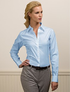 Womens French Cuff Dress Shirt