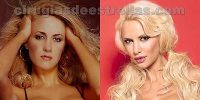 Luciana Salazar antes y despues