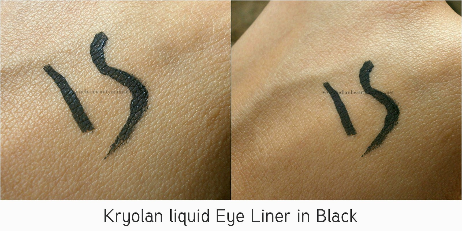 Affordable liquid liners in India, eyeliner, Kryolan