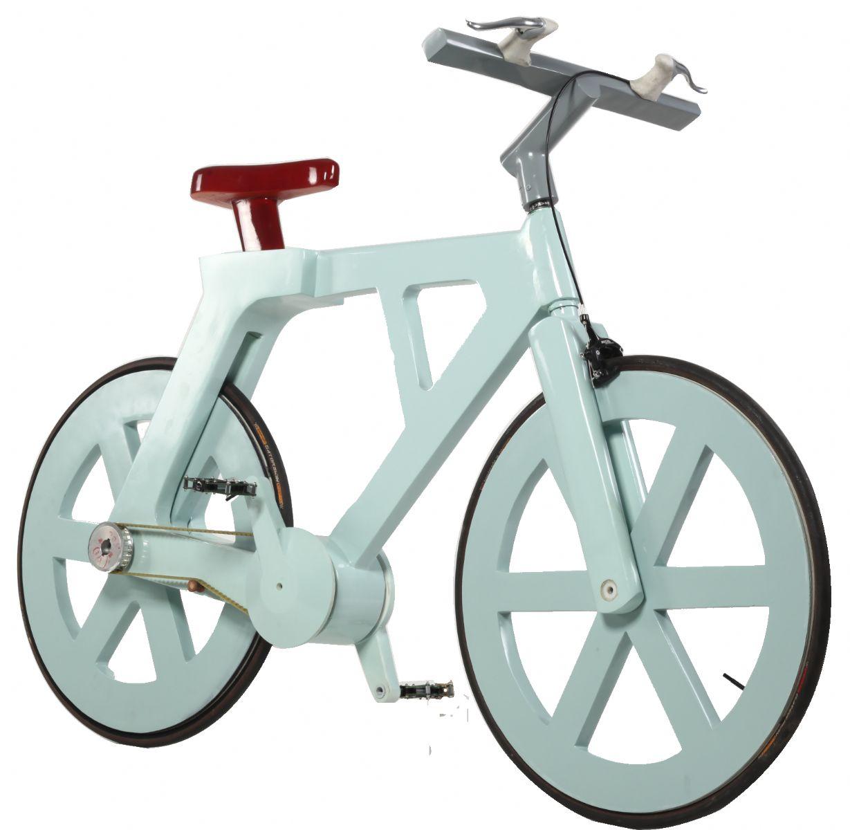 """una bicicleta de cartón sólo cuesta 9 dólares"""" y realmente es un"""