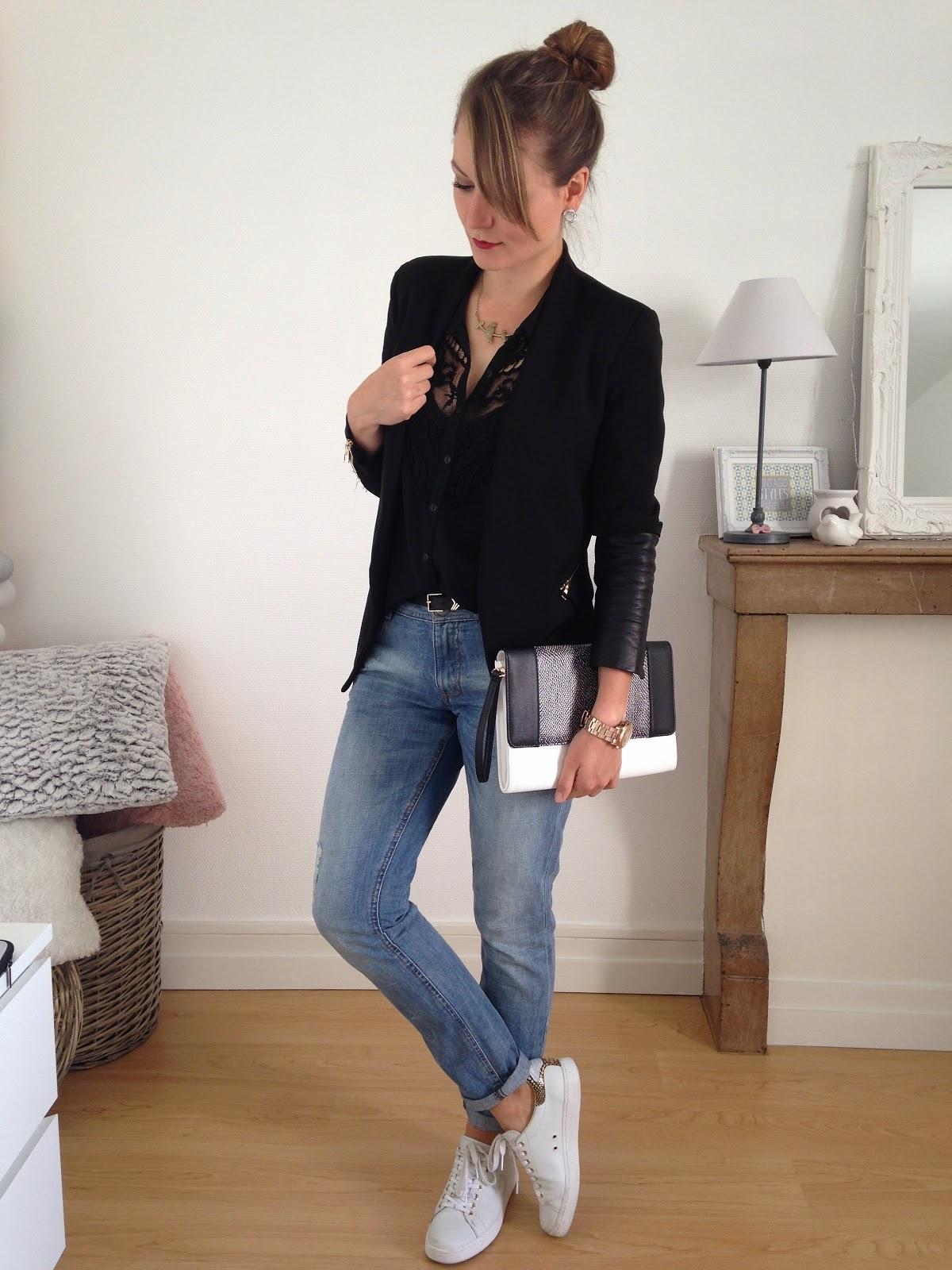 confortable boyfriend pauline dress blog mode lifestyle et d co besan on. Black Bedroom Furniture Sets. Home Design Ideas