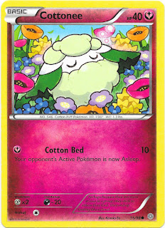 Cottonee Ancient Origins Pokemon Card