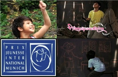 Wansapanataym 'Chalk Boy' episode starring Bugoy Carino honored in Prix Jeunesse International 2012