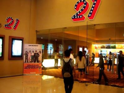 Jadwal Film Bioskop 21