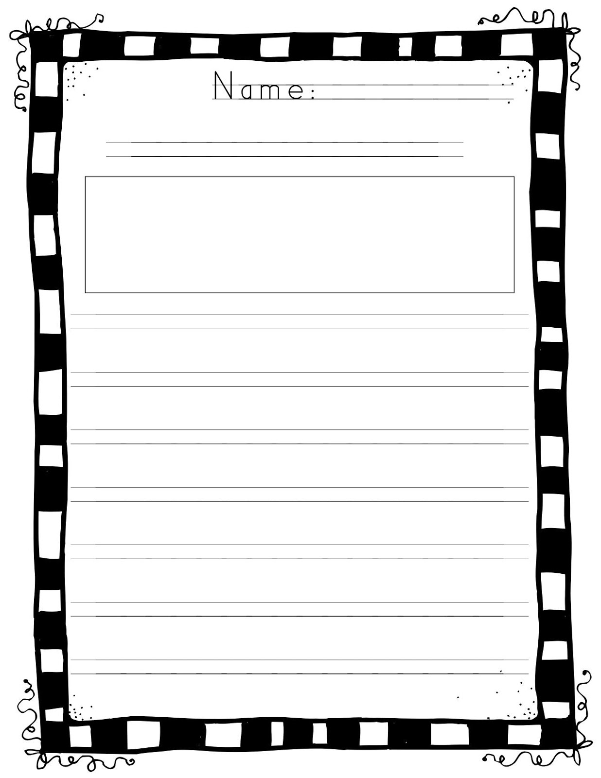 handwriting without tears paper printable