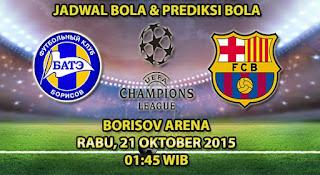 BATE Borisov vs Barcelona
