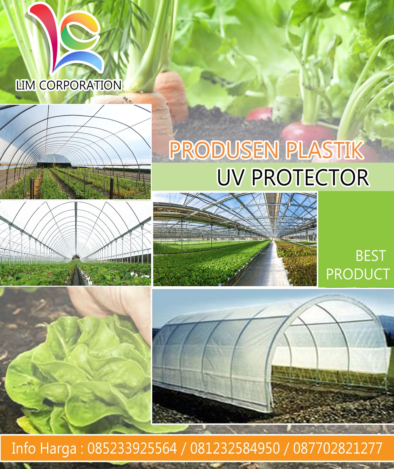 Jual Plastik UV Greenhouse