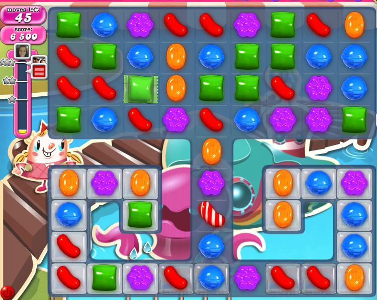 Candy Crush Saga Hints and Tips for level 133