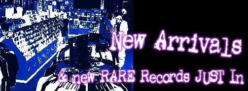Dr. Strange Records New Arrivals Rare Punk Records