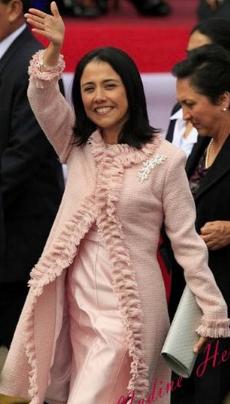 Nadine Heredia, ¿futura presidenta de Perú?
