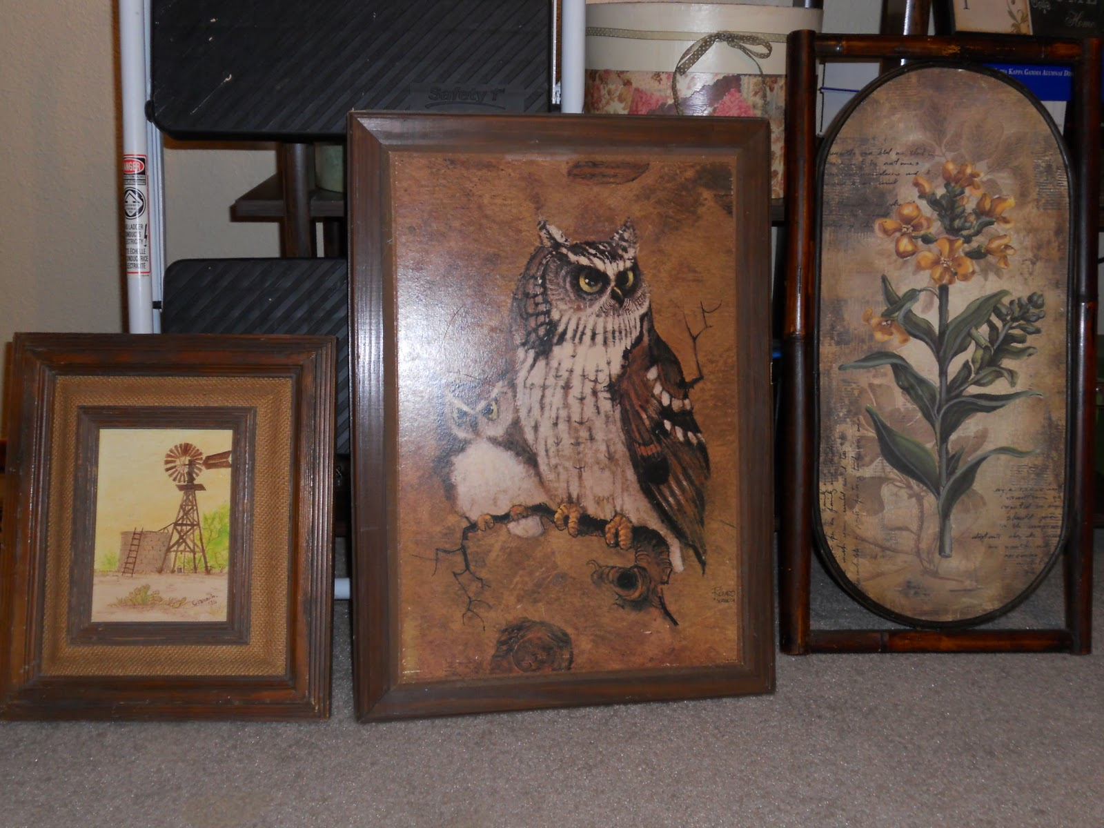 Rediscovered Potential: Goodwill Hunting: Ugly Frames - Repurposed