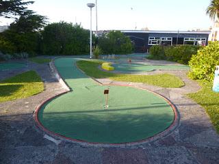 Gilmores Golf minigolf course in Newquay, Cornwall