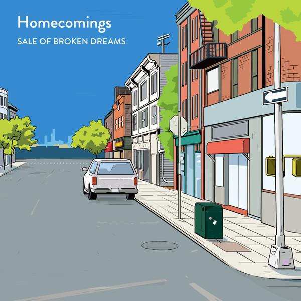 [Album] Homecomings – SALE OF BROKEN DREAMS (2016.05.11/MP3/RAR)