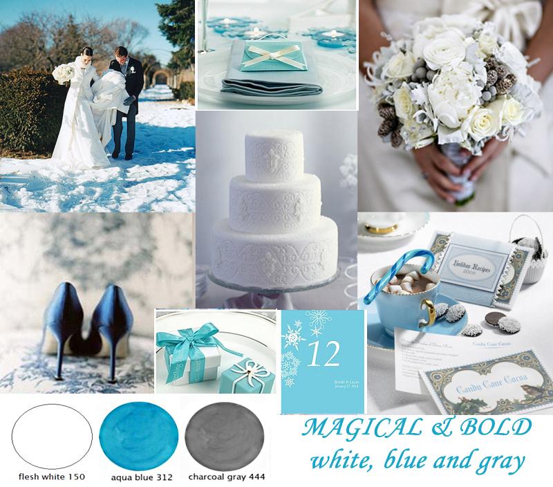 7 Kwiatów Inspiracje Zimowy ślub