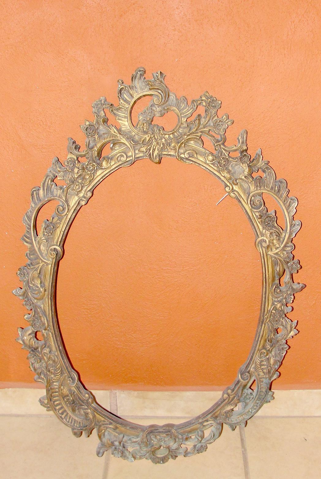 Desde Jalisco Bazar: Antiguo marco para espejo estilo Barroco