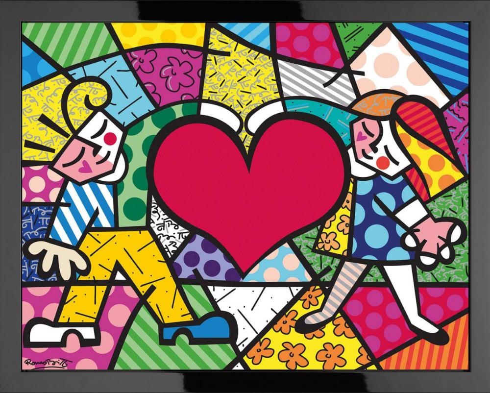 The exchange the romero britto collection at castle fine art - Fotos de cuadros ...