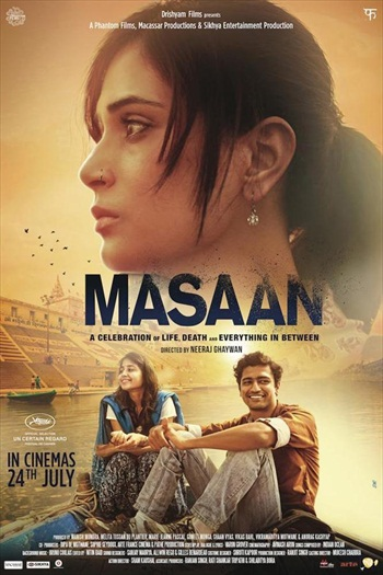 Masaan 2015 Hindi 720p BluRay 800mb