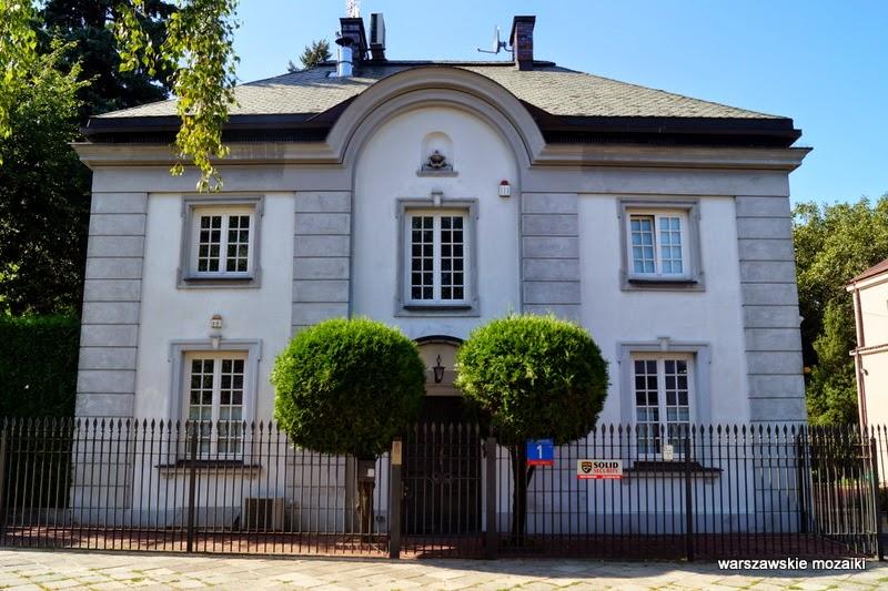 Żoliborz Warszawa stolica willa styl dworkowy oficerski modernizm