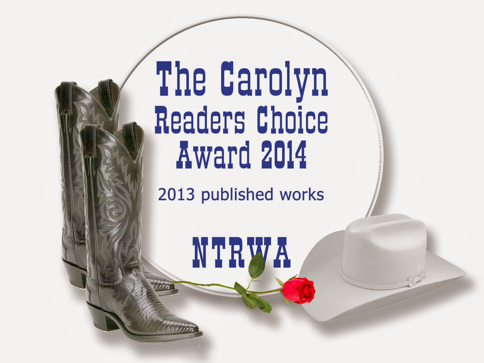 The Carolyn Readers Choice award logo
