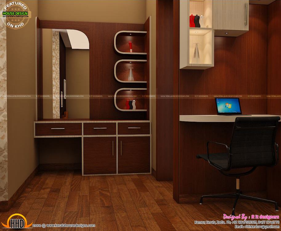 Front Elevation Designs Kerala : Wash area dining kitchen interior kerala home design