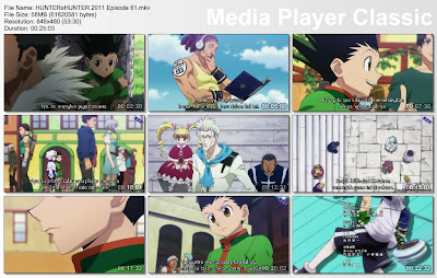 "Download Film / Anime Hunter x Hunter 2011 Episode 61 ""Undangan dan Teman"" Bahasa Indonesia"