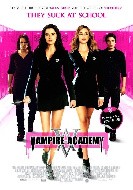 """Vampire Academy (2014)"" movie review by Nazmysti Nm"