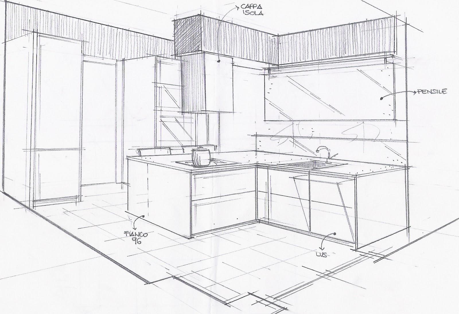 La casa rosso papavero cucina piano snack o tavolo for Piani di stand da pranzo