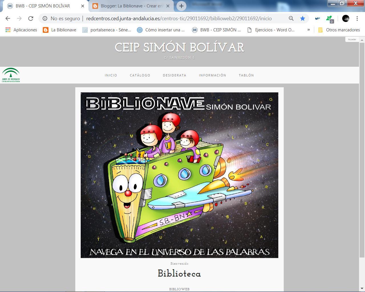 Catálogo La Biblionave