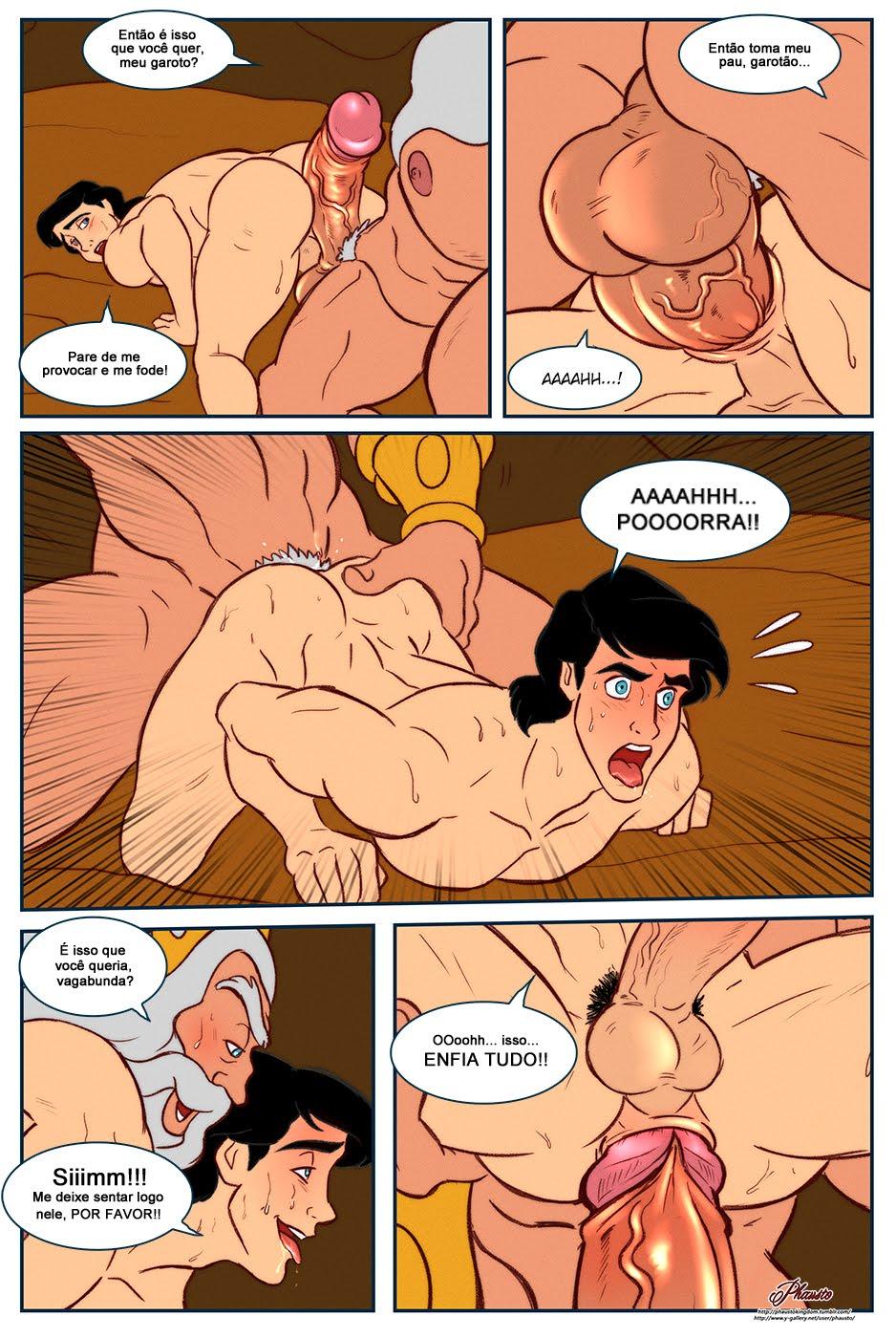 Quadrinhos de sexo gay
