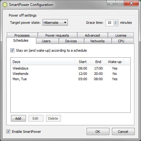 SmartPower 1.6.0 - Aplikasi Gratis Untuk Menyalakan dan Mematikan PC Secara Otomatis
